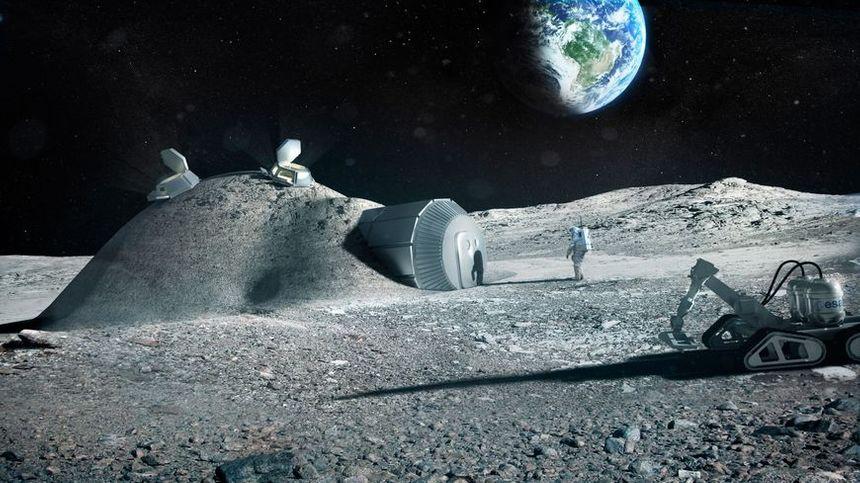 Voilà à quoi pourrait ressembler les futures stations sur la Lune