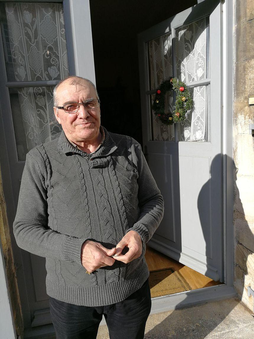Christian Machabert vit désormais à Is-sur-Tille