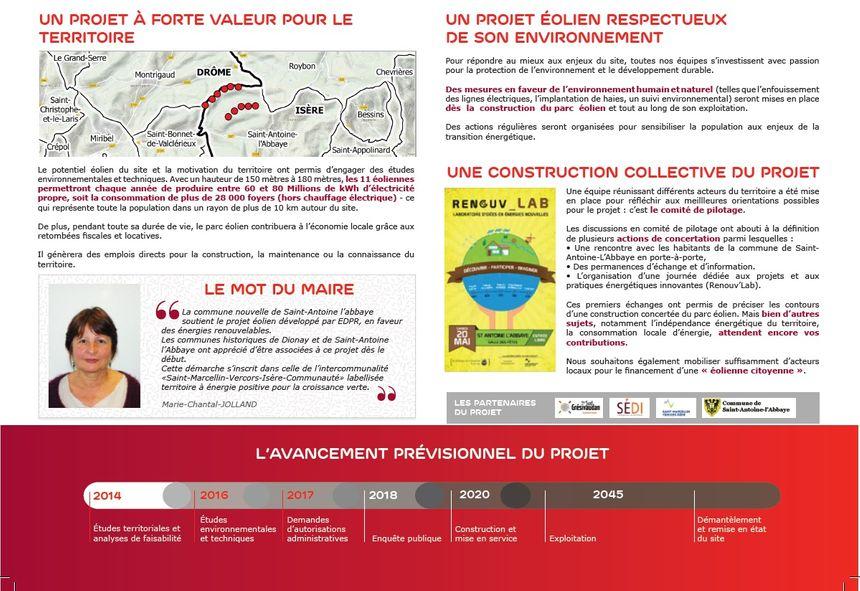Extrait d'un document distribué à Saint-Antoine-L'Abbaye et les communes voisines