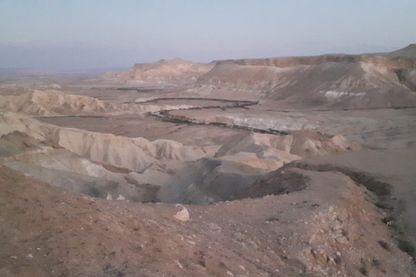 Le désert du Negev