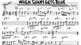 "When Sunny Gets Blue"" de Jack Segal & Marvin Fisher"