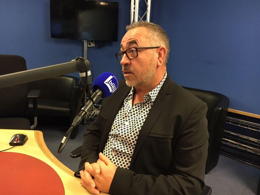 Philippe Séguier, président du syndicat autonome des sapeurs-pompiers de Haute-Garonne. - Radio France