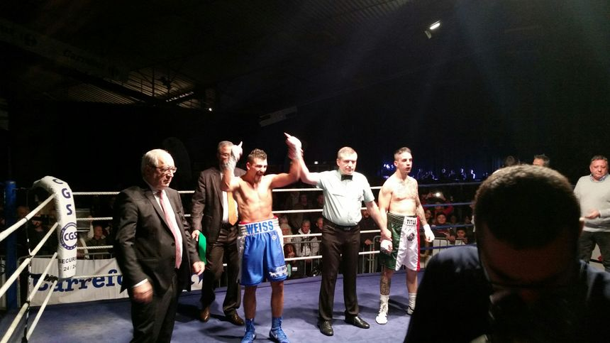 Jordy Weiss déclaré vainqueur - Radio France
