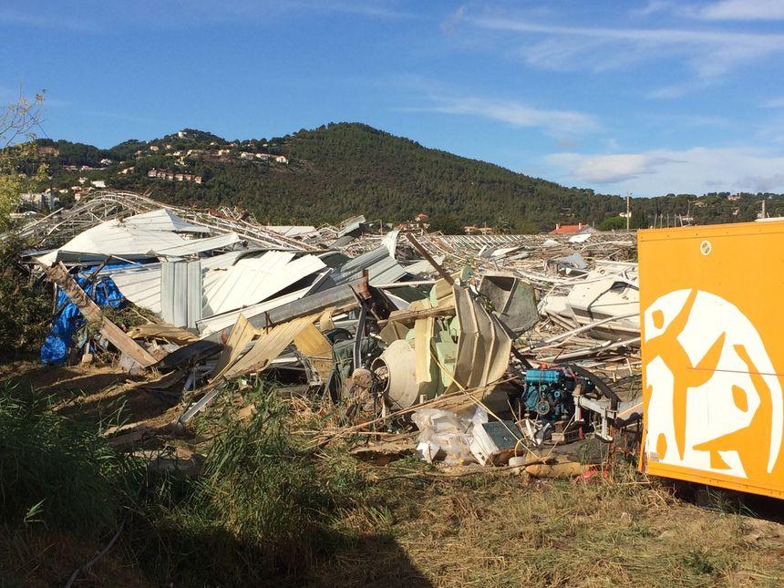 De nombreux dégâts après le passage de la mini tornade
