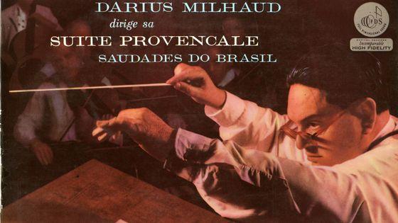 Concert Arts Orchestra et Darius Milhaud, chef d'orchestre