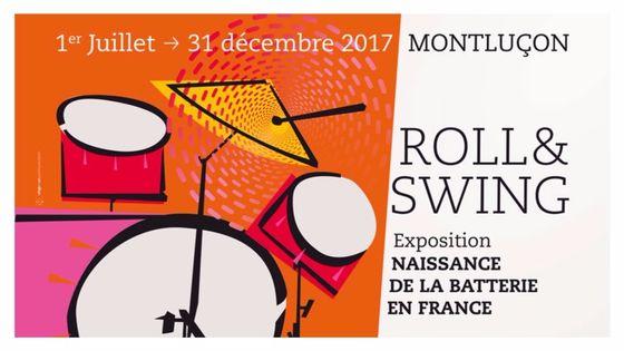Exposition Roll and Swing Naissance de la batterie en France