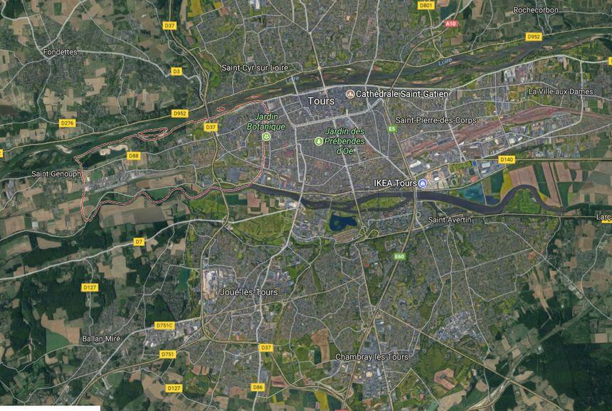 La Riche est une commune à l'ouest de Tours.