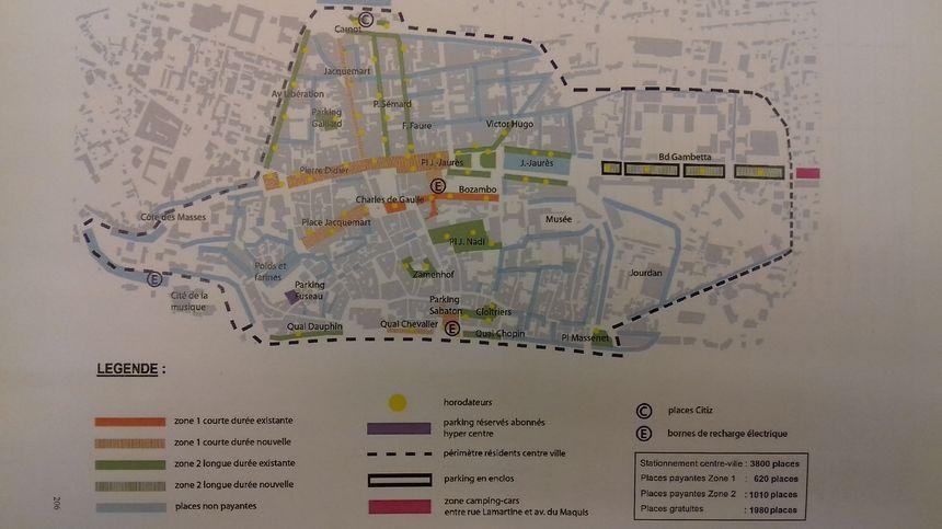 Le nouveau plan de stationnement à Romans