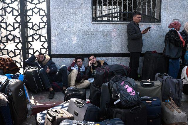 La frontière avec L'Égypte n'a ouvert que 31 jours cette année