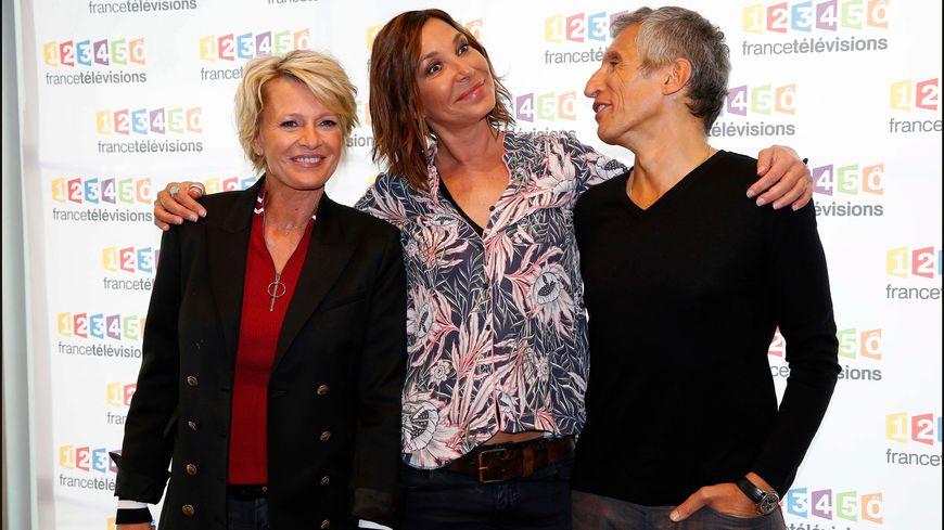 Sophie Davant, Zazie et Nagui, le trio gagnant du téléthon 2017