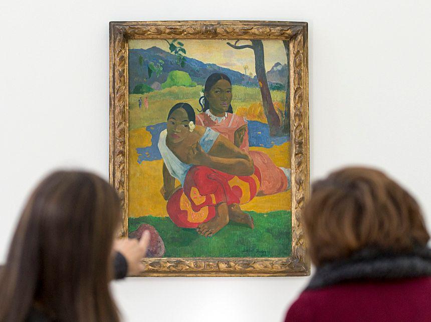 """""""Quand te maries-tu ?"""" de Paul Gauguin, exposé à la Fondation Beyeler en Suisse (février 2015)"""