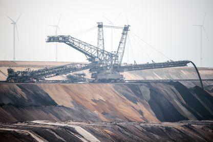Une mine de charbon en Allemagne