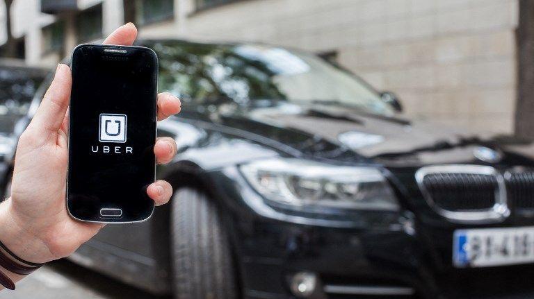 L'application de VTC Uber touchée par un piratage (illustration)
