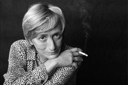 L'écrivaine Françoise Sagan de 1987