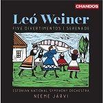 Leó Weiner - Five divertimentos - Serenade - Estonian National Symphony Orchestra - Neeme Järvi