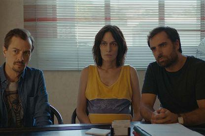 Fabien Gorgeart, Clotilde Hesme et Grégory Montel