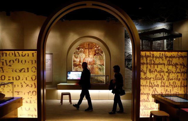 Visite à l'intérieur du musée de la bible à Washington