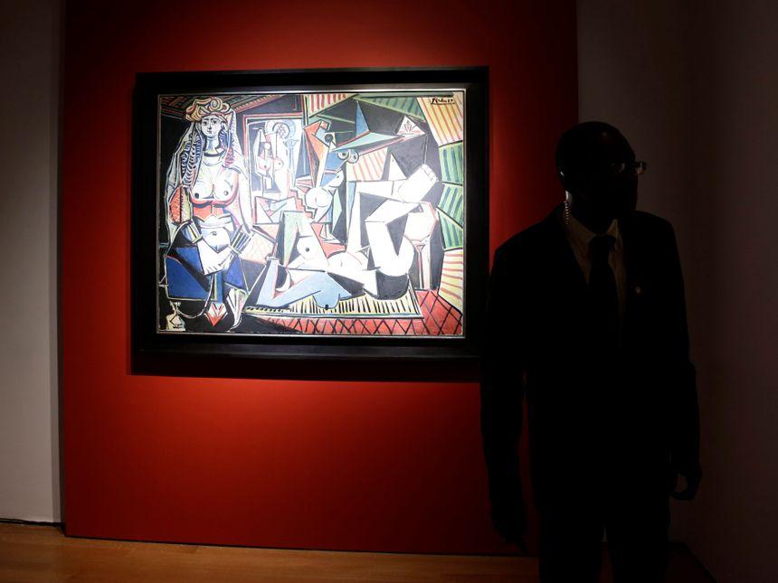 """Les """"femmes d'Alger"""" de Picasso, chez Christie's en mai 2015"""