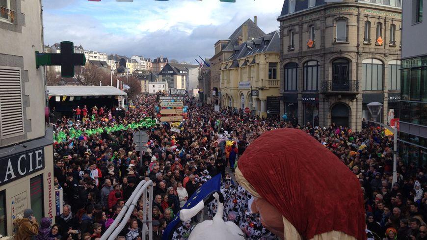 Le carnaval de Granville rassemble chaque année au moins 130 000 personnes chaque année