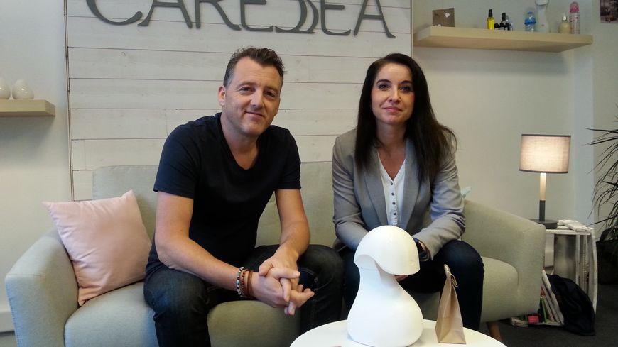 Sébastien et Fabienne Fauconnier ont imaginé un objet connecté autour du bien être du nourrisson