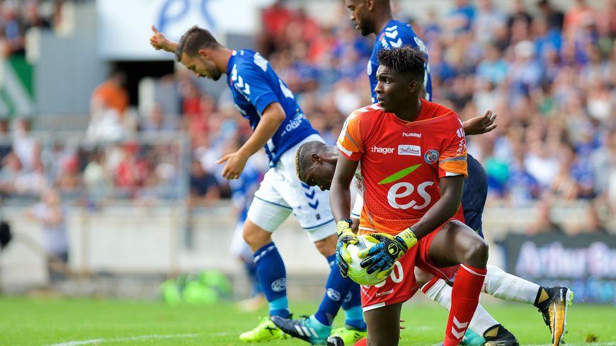 Bingourou Kamara et le Racing veulent battre Caen avant de penser au PSG