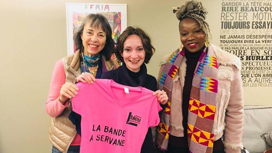 Catherine Laurent, Aurore Monard et Fatima Badiane