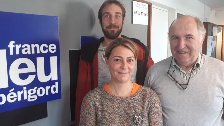 Céline lefevre , Jean Eynard et Kevin  d' Arteec