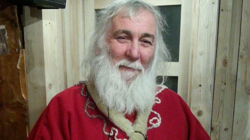 Le Père Noël de Gérardmer, Alain Simonin, avant son départ (photo de 2014)