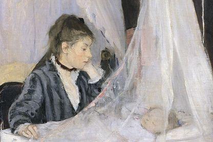Le berceau de Berthe Morisot
