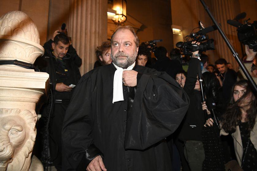 Eric Dupont-Moretti, l'avocat d'Abdelkader Merah, après l'annonce du verdict.