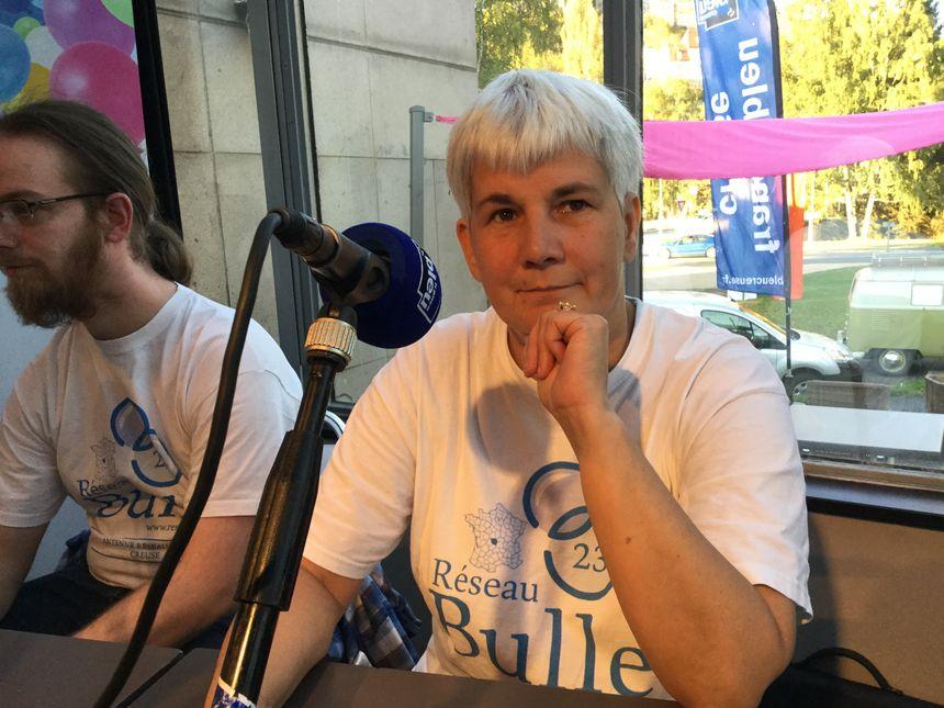 Marie Christine Schulz responsable antenne réseau bulle 23