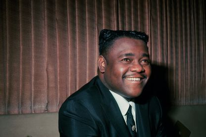 Portrait de Fats Domino