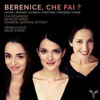HAYDN Cantate HOB XXIVa : 10 : Scène de Bérénice : Non partir bell'idol mio (Air) - pour mezzo soprano et orchestre