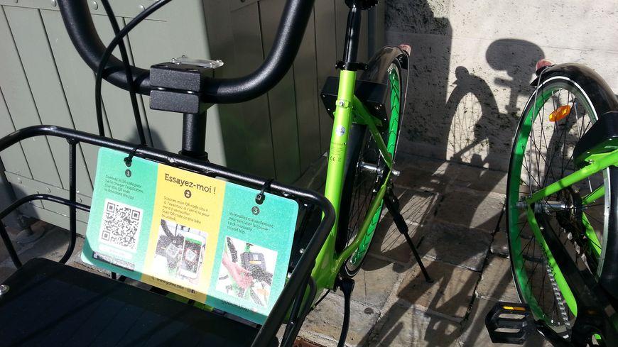 Les vélos Gobee.bike sont disponibles à partir d'une application sur votre smartphone