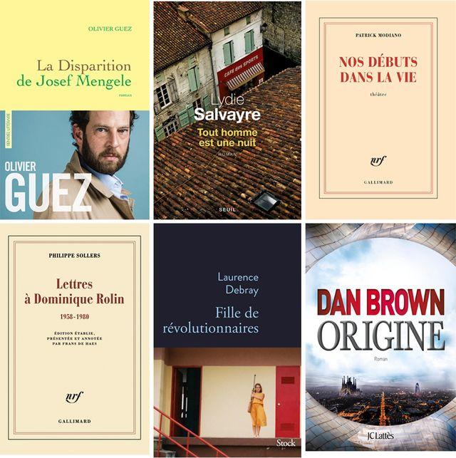Les livres critiqués au Masque et la Plume le 26 novembre 2017