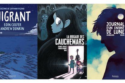 Trois bande-dessinées pour vos ados