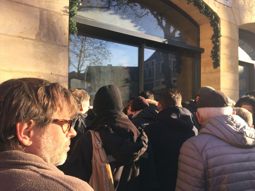 Certains amateurs de truffes ont fait jusqu'à 1h30 de queue pour aller chercher la meilleure qualité