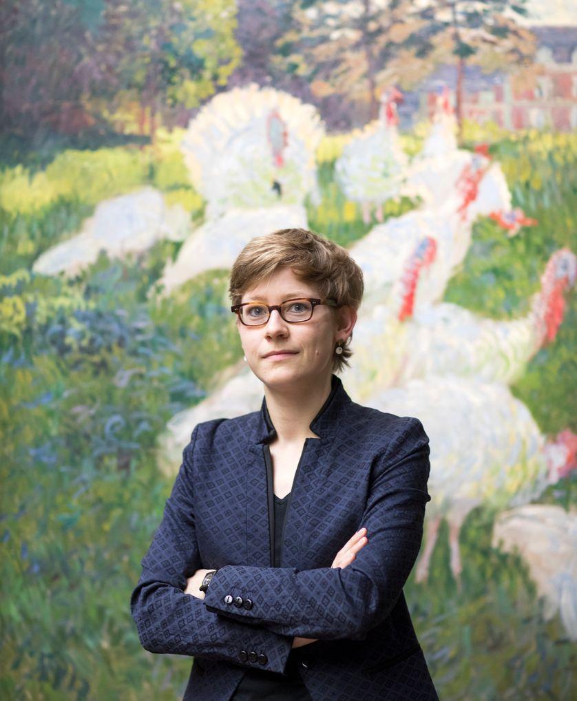Marine Kisiel, conservateur peinture au musée d'Orsay