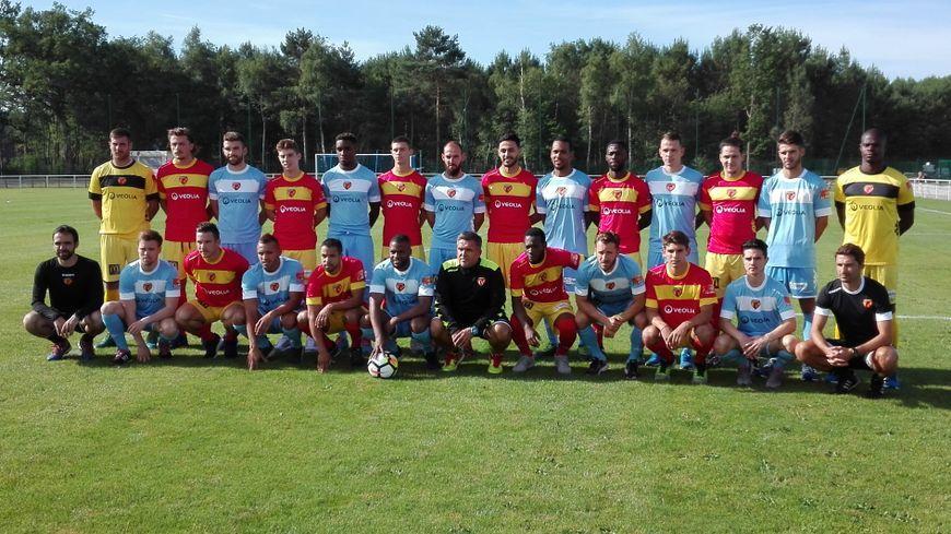 L'équipe 2017 - 2018 du Mans FC
