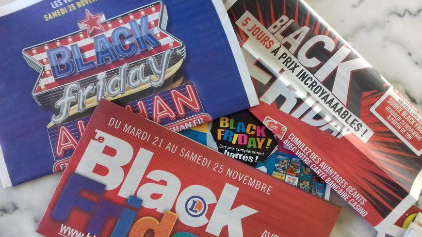 Les publicités pour le Black Friday envahissent les boîtes aux lettres