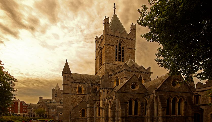 La cathédrale Christ Church de Dublin, est la plus ancienne cathédrale médiévale de la ville