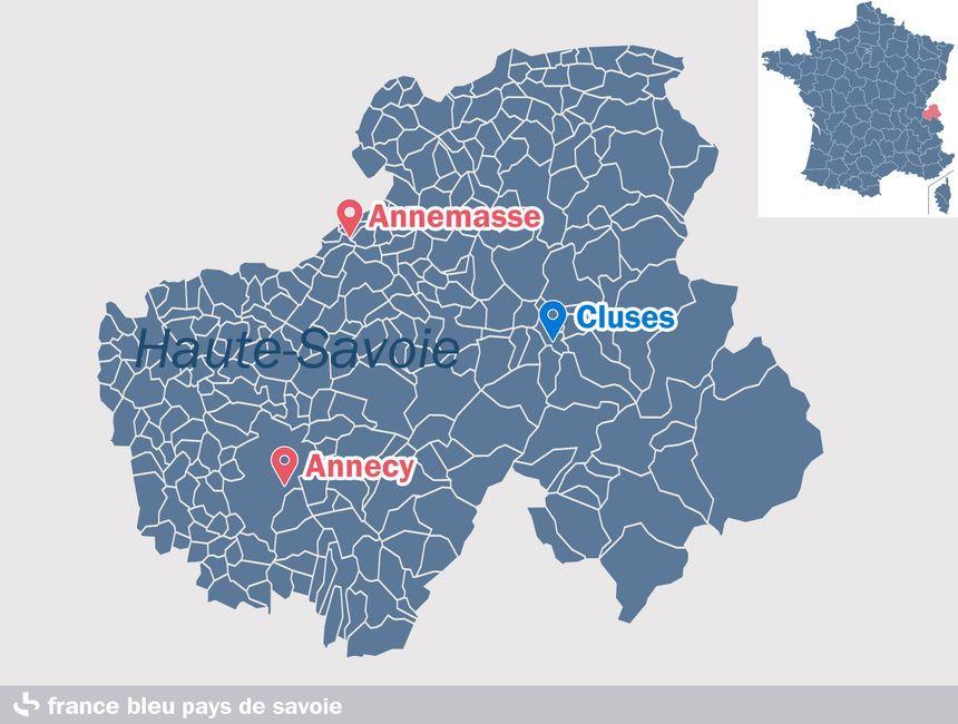 Cluses, en Haute-Savoie