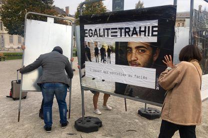 Exposition à Grenoble sur l'impact des contrôles au faciès