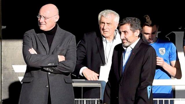 Bernard Laporte et Mohed Altrad