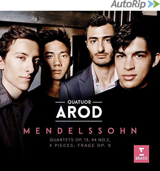 Le Quatuor Arod joue Mendelssohn © Erato