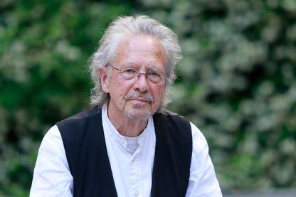 Peter Handke écrivain, auteur dramatique, scénariste, réalisateur et traducteur autrichien le 22 mai 2017 à Madrid.