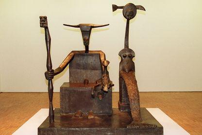 Le Capricorne, sculpture de Max Ernst (1948)