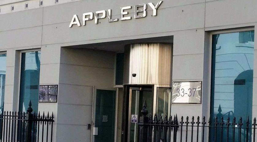 Le siège du cabinet d'avocats Appleby à l'île de Man.