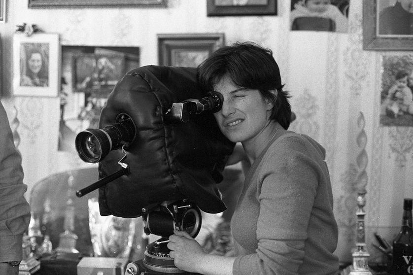 """Chantal Akerman sur le tournage de son documentaire """"Aujourd'hui, dis-moi"""" en 1980"""