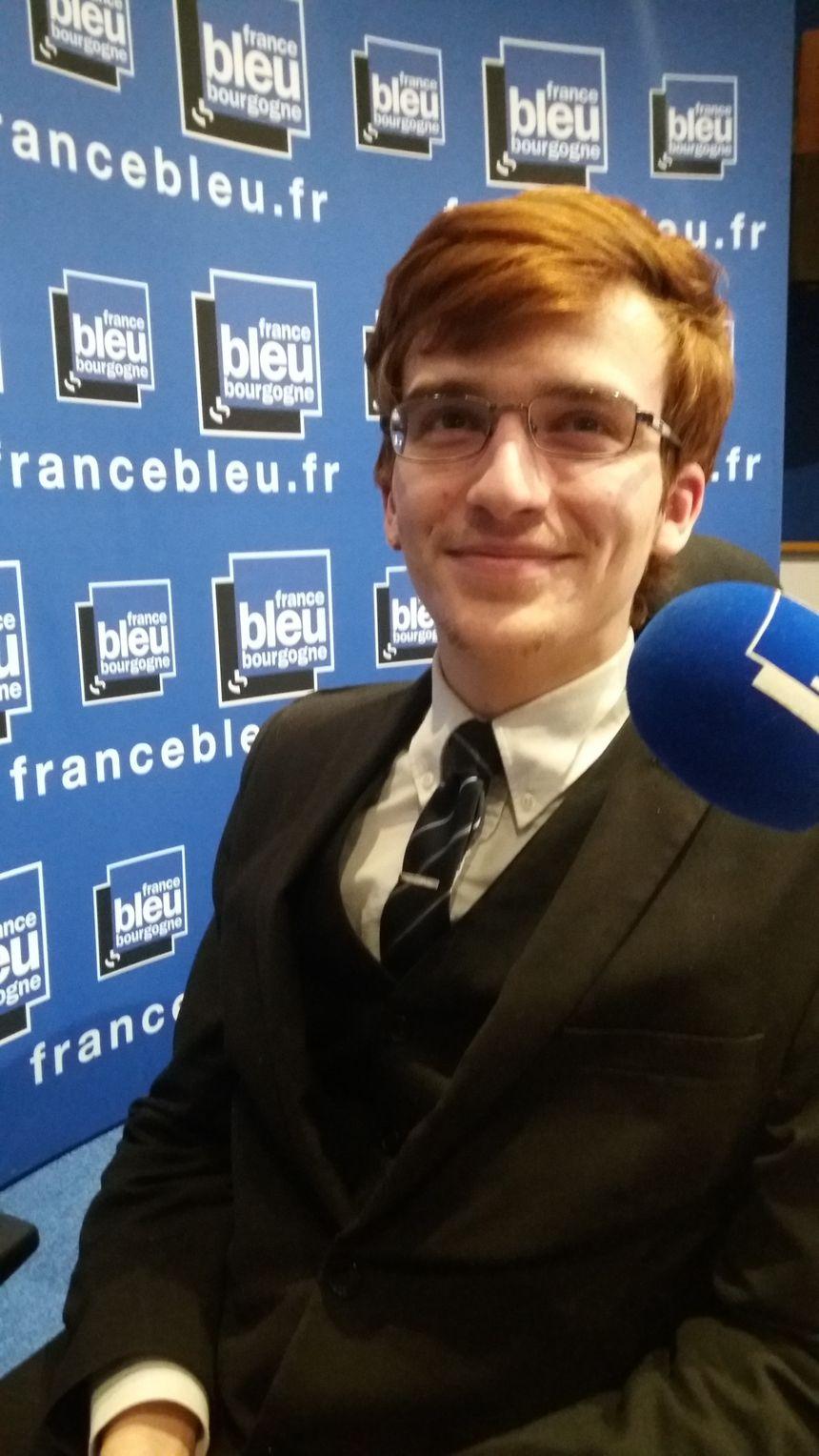 Alexandre Georges, adhérent dijonnais à LREM